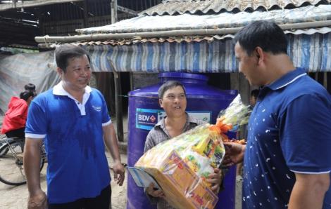 """""""Nước ngọt cho cuộc sống Xanh"""" của BIDV đến với bà con 5 tỉnh đồng bằng sông Cửu Long"""