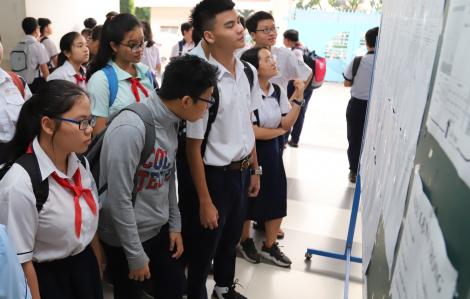 TP.HCM: Thi tuyển lớp 10 ngày 16 và 17/7