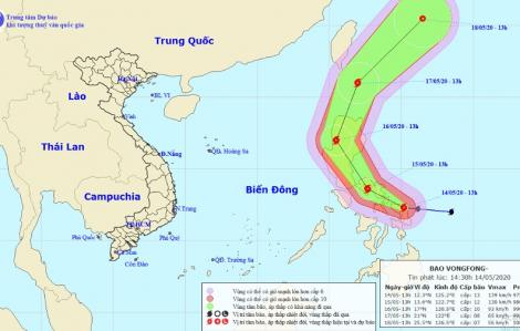 Bão cấp 13 xuất hiện gần bờ biển Philippines
