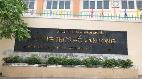 Lập tổ công tác giải quyết phản ánh về Trường THCS Hồ Văn Long