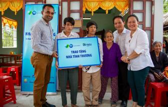 60 hộ gia đình khó khăn được hỗ trợ an cư thông qua dự án hợp tác xây nhà
