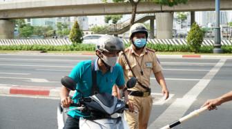 Ngày đầu tổng kiểm soát phương tiện: Nhiều trường hợp không xuất trình được giấy tờ xe