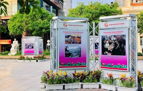 """TPHCM: Triển lãm ảnh """"Hồ Chí Minh - Đẹp nhất tên Người"""""""