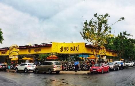 """""""Chào sân"""" Bình Dương, chuỗi cà phê Ông Bầu khai trương quán lớn nhất"""
