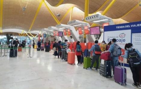 Gần 200 công dân Việt Nam từ nhiều quốc gia châu Âu được đưa về nước
