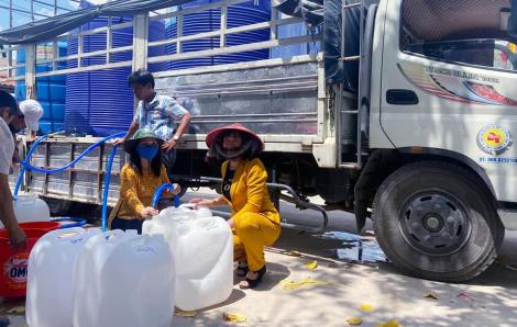 Thêm 160.000 lít nước ngọt về đồng bằng