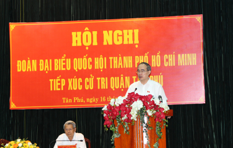 Bí thư Nguyễn Thiện Nhân đích thân kiểm tra trật tự xây dựng tại Bình Chánh vào ngày mai 17/5