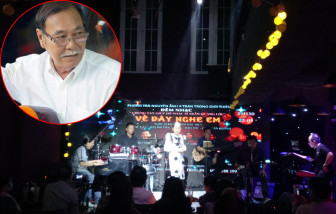 Ấm tình đêm nhạc hỗ trợ nhạc sĩ Trần Quang Lộc
