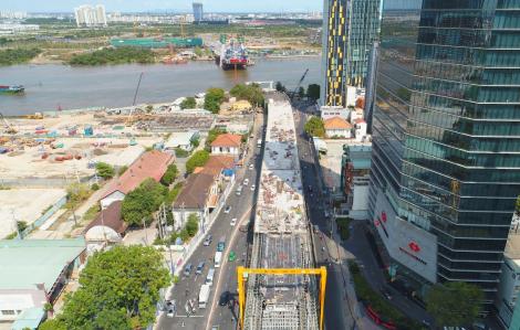 Cầu Thủ Thiêm 2, biểu tượng giao thông mới giữa trung tâm TPHCM đang thành hình