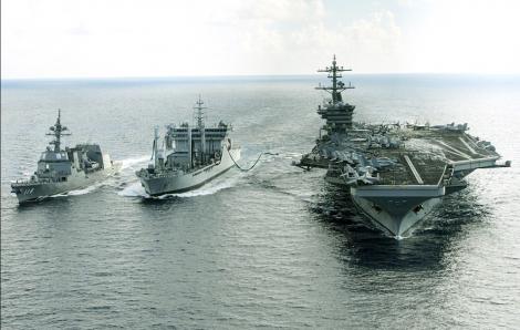 Nền quốc phòng Nhật Bản trỗi dậy giữa căng thẳng Mỹ - Trung