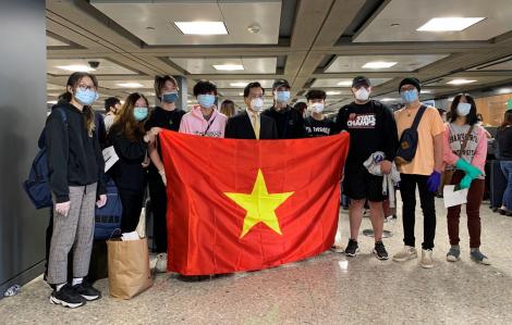 Thêm một chuyến bay đưa công dân từ Mỹ về nước an toàn