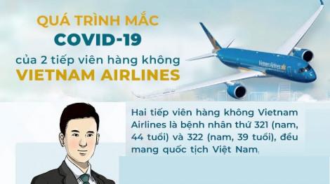 Hành trình mắc COVID-19 của 2 tiếp viên hàng không Vietnam Airlines
