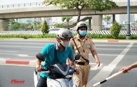 Bốn ngày ra quân tổng kiểm soát, TPHCM xử lý hơn 4.000 trường hợp vi phạm giao thông