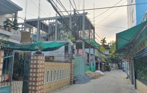 Vụ biến nhà riêng lẻ thành 4 khối nhà: Sở Xây dựng Đà Nẵng đề nghị xác minh việc rao bán căn hộ