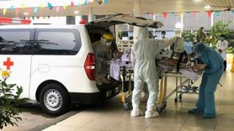 5g chiều 22/5, phi công Vietnam Airlines mắc COVID-19 được đưa vào Chợ Rẫy điều trị