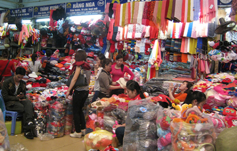 Thương nhân chợ An Đông được miễn phí quầy sạp 2 tháng