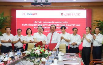 Agribank và Tổng công ty Điện lực Miền Bắc nâng tầm hợp tác
