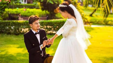 Cô dâu 65 tuổi tung bộ ảnh cưới lãng mạn
