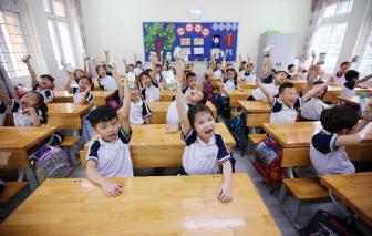 Hơn 1 triệu trẻ mẫu giáo và học sinh tiểu học được thụ hưởng sữa học đường tại Hà Nội