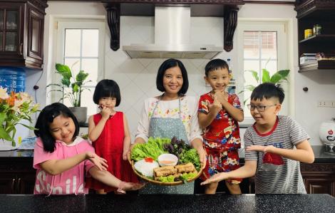 Hướng dẫn nấu món ngon cho gia đình: mỗi tuần một clip