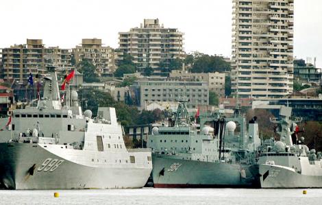 Úc trong thế bị bao vây nếu đối đầu với Trung Quốc