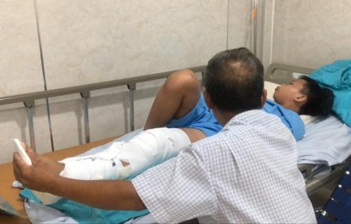 5 học sinh bị cây phượng đè đã được phẫu thuật