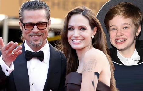 Brad Pitt và Angelina Jolie thân thiết hơn nhờ sinh nhật con