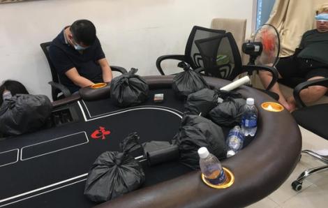 Người Hàn Quốc thuê biệt thự tổ chức sòng bạc poker ở Sài Gòn