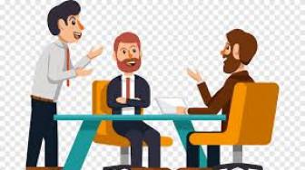 Đàn ông bận đi họp