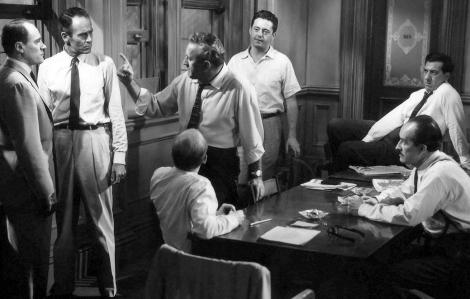 Bài học điềm tĩnh từ 12 người đàn ông giận dữ