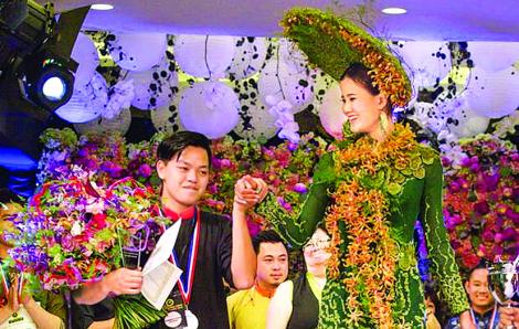 Hà Minh Khôi, chàng trai hoa lá