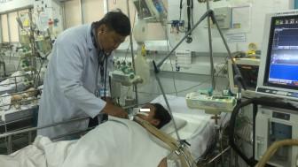 Sốc sốt xuất huyết vì chỉ lo… nhiễm COVID-19