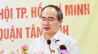 """Bí thư Thành ủy TPHCM Nguyễn Thiện Nhân:""""Chống tham nhũng quyết liệt cảnh tỉnh được nhiều người"""""""