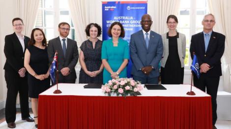 Việt Nam được hỗ trợ 5 triệu đô la Úc để phục hồi kinh tế
