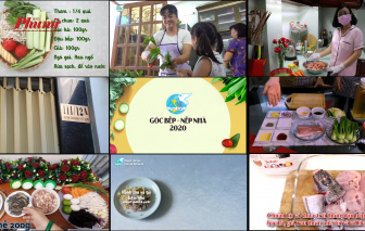 Video clip: Lời yêu thương của bữa cơm gia đình