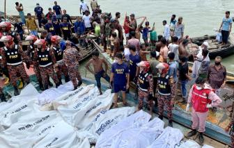 Chìm phà ở Bangladesh, ít nhất 23 người thiệt mạng