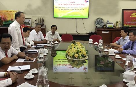 Hợp tác chiến lược toàn diện nâng cao chất lượng nhân lực ngành môi trường, chuyển giao phát triển ứng dụng công nghệ