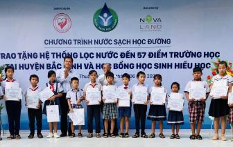 """""""Nước sạch học đường"""" đến với giáo viên, học sinh huyện Bắc Bình, Bình Thuận"""