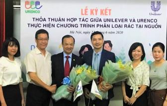 """Unilever Việt Nam và URENCO hợp tác triển khai chương trình """"Phân loại rác tại nguồn gắn liền với thu gom và xử lý rác thải nhựa tại Hà Nội"""""""