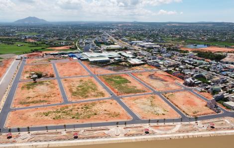 Chủ đầu tư dự án Hàm Thắng - Hàm Liêm chưa đền bù đã lấy đất của dân làm dự án