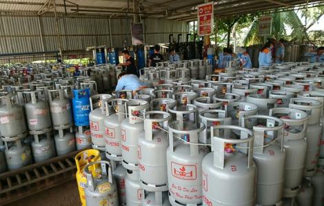 Giá gas tháng 7 tăng thêm 3.500 đồng/bình