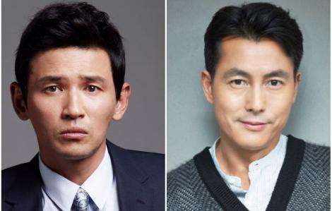 """""""Ông hoàng phòng vé"""" Hwang Jung Min đối đầu Jung Woo Sung"""