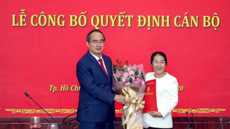 Phó bí thư Thành ủy TPHCM Võ Thị Dung nghỉ hưu