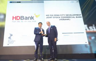 """HDBank, ngân hàng Việt Nam liên tiếp 3 năm vào danh sách """"Nơi làm việc tốt nhất châu Á"""""""