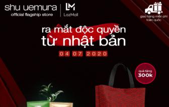 shu uemura ra mắt gian hàng chính hãng trên LazMall vào ngày 04/07/2020