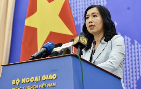 Việt Nam yêu cầu Trung Quốc không lặp lại những sai phạm trên Biển Đông