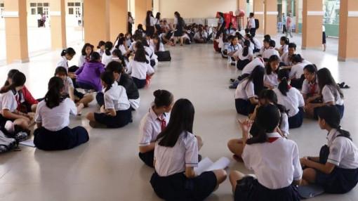 Học sinh cuối cấp 53 trường tại TP.HCM thực hiện khảo sát đánh giá chất lượng
