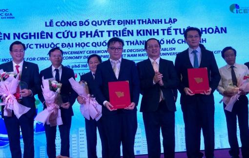 TPHCM có Viện nghiên cứu phát triển kinh tế tuần hoàn đầu tiên