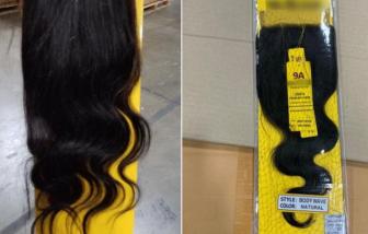 Mỹ thu giữ 13 tấn tóc nghi của tù nhân Trung Quốc