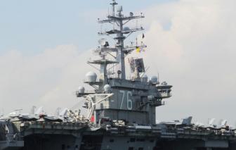 Phản đối cuộc tập trận của Trung Quốc, Mỹ gửi hai tàu sân bay đến Biển Đông